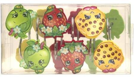 Generic Shopkins Shower Hooks 12 Piece In 2019 Products