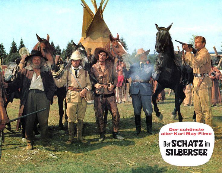 17 best images about lex barker on pinterest american for Der schatz im silbersee
