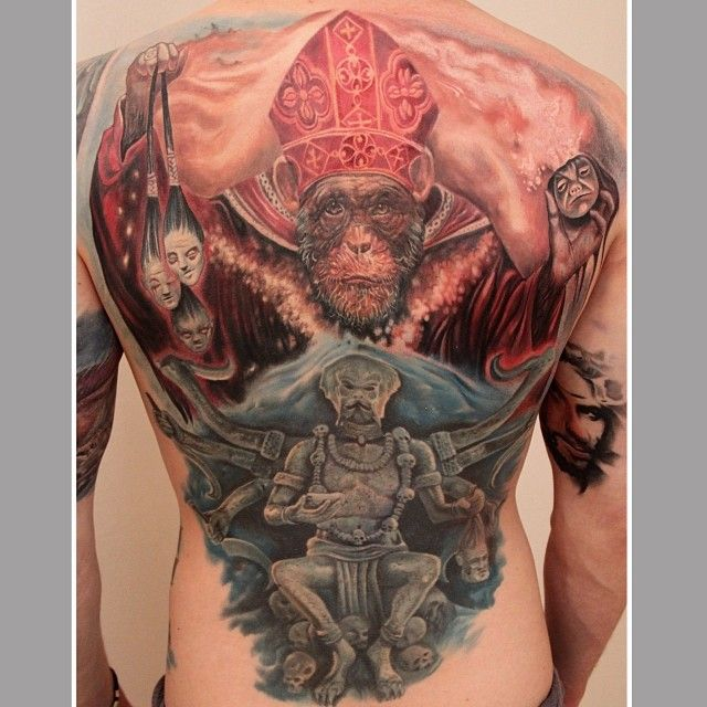 215 best images about back piece tattoos on pinterest for Mobile tattoo artist