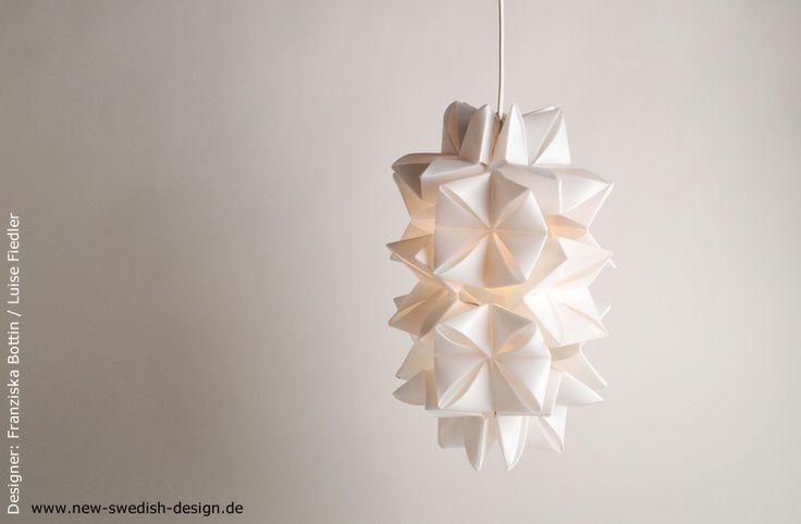 ikea hack designer lampe mit hemma konzepte concepts pinterest diy lampe origami und. Black Bedroom Furniture Sets. Home Design Ideas