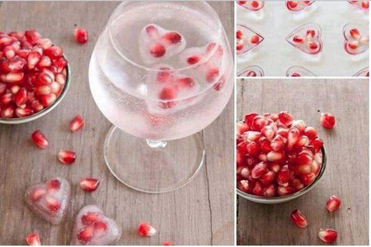 #pomegranate #ice