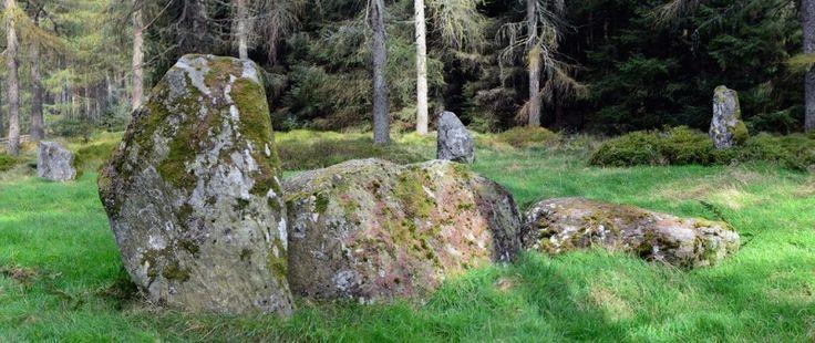 nine stanes stone circle recumbent Photo - Visual Hunt