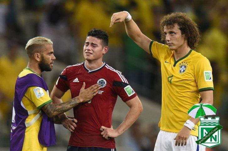 Brasil 2-1 Colombia   Cuartos de Final #GraciasColombia
