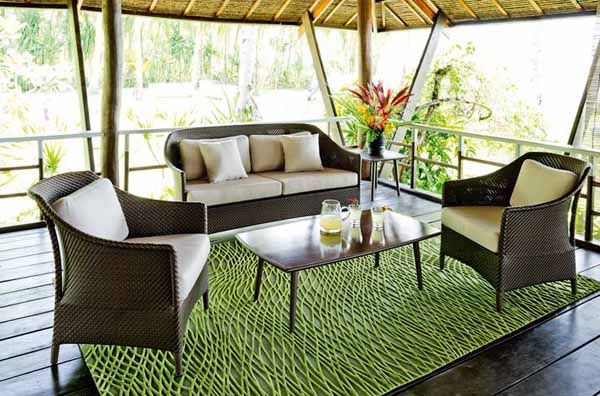 Outdoor Wicker Furniture Collection from Dedon, Innovative Outdoor Furniture Design