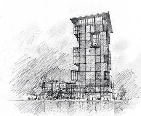 Över 1 000 bilder om Architecture Sketches på PinterestPenna och ...