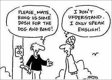 Британский сленг и популярные выражения  / Неформальный Английский