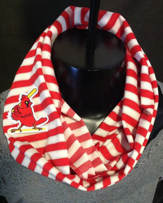 St Louis  Cardinals Infinity/ Circle Scarf by PrivyKittyBoutique, $20.00
