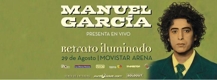 Manuel García  Movistar Arena 2014