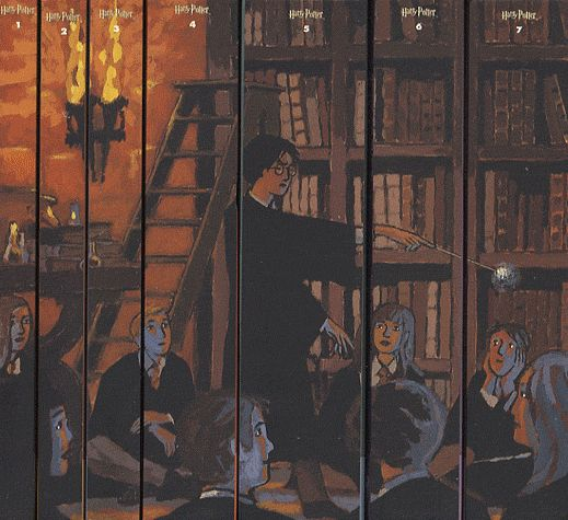 Harry Potter, 7 volumes