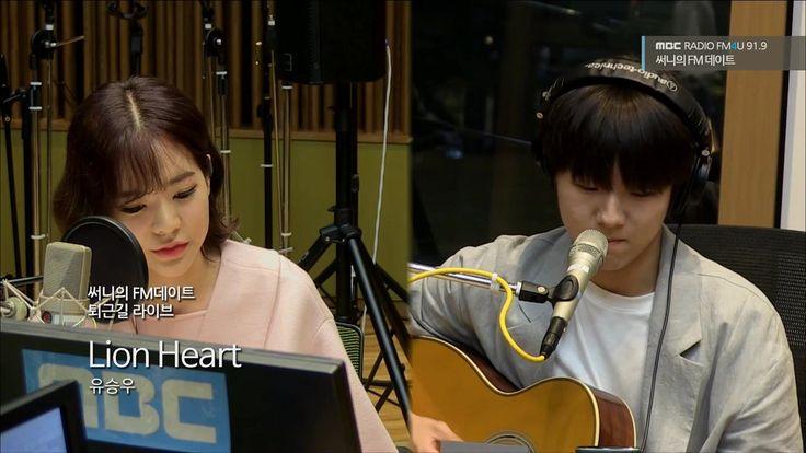 "Yu Seungwoo ""Lion Heart"" (SNSD) [MBC Sunny's FM Date]"