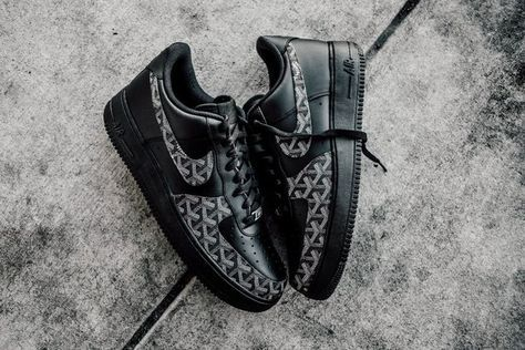 Goyard AF1 Low by Nike, Amac Customs on What Drops Now