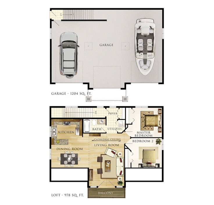 31 best images about shop ideas on pinterest house plans for Apartment over garage floor plans