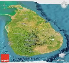 Image result for topographical map of sri lanka