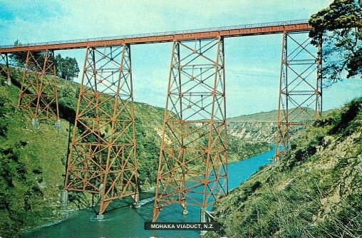 Mohaka Rail Viaduct Postcard