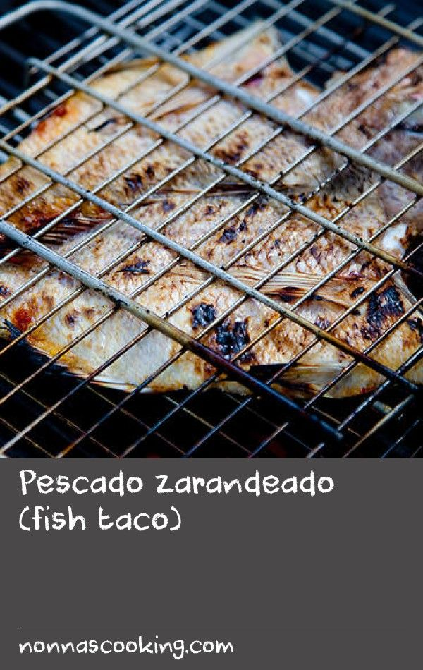 """Pescado zarandeado (fish taco) 