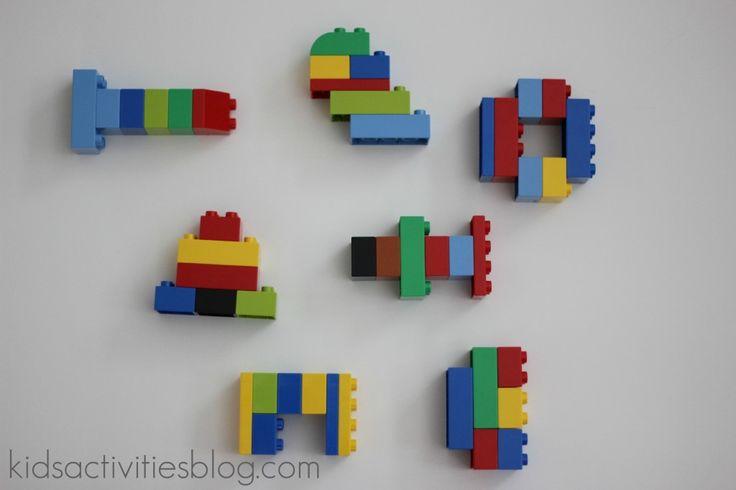Take photos of lego & make instruction cards for E to recreate