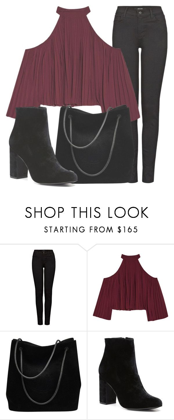 """Outfit #1660"" by lauraandrade98 on Polyvore featuring J Brand, W118 by Walter Baker, Gucci and Witchery"