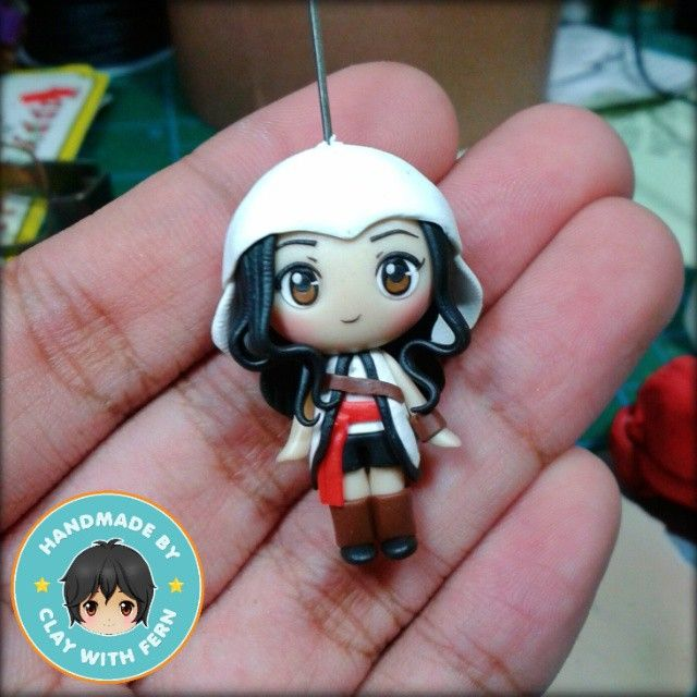 Commission order of a given pic by Marian, female version of a character from #AssasinsCreed. **for custom-made chibis, contact me on my bio. <3 #Padgram