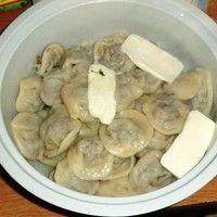 Ушки с грибами