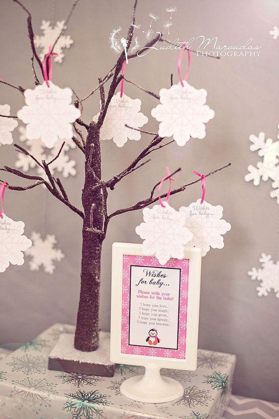 Winter Wonderland Penguin Baby Shower by ShopCelebrationLane