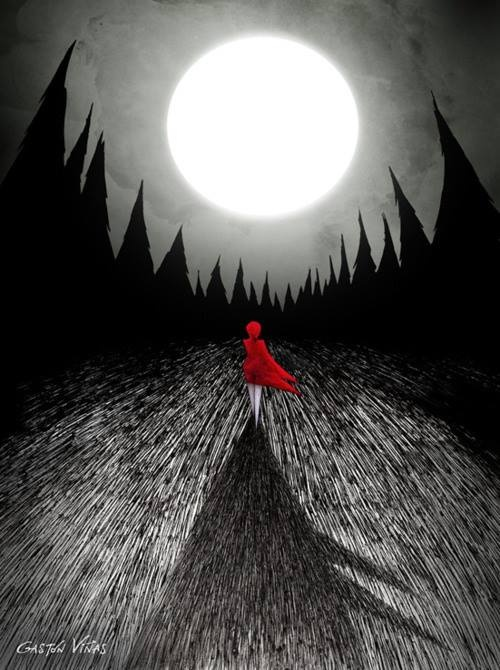 The red coat by Gaston Vinas