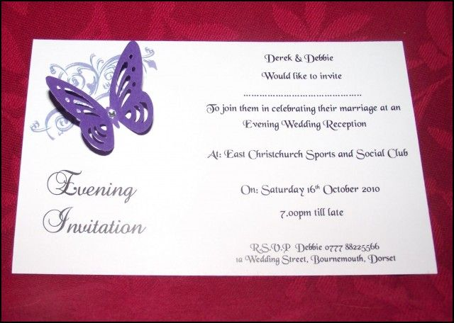 Evening Wedding Reception Invitations: Best 25+ Evening Wedding Invitations Ideas On Pinterest