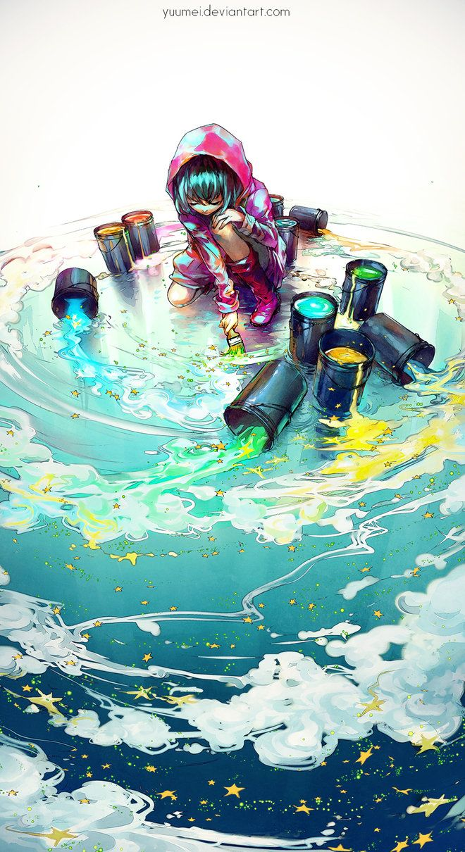 Before I Grow Up by yuumei/// One of the best pieces I've seen, I love it so much