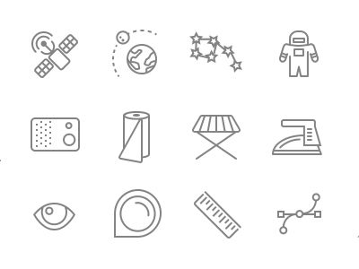 Retina Icon Set - Launch discount for dribbble friends.