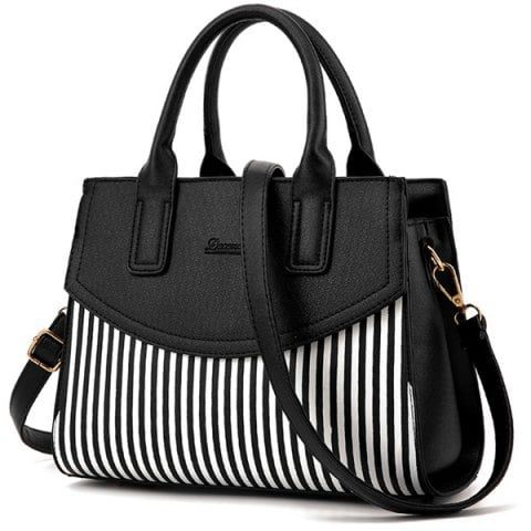 GET $50 NOW | Join RoseGal: Get YOUR $50 NOW!https://www.rosegal.com/tote/letter-embossed-striped-pu-leather-740920.html?seid=6384889rg740920