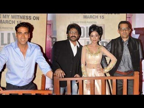 Mumbai, March 14: A star--studded premiere for Arshad Warsi and Boman Irani starrer Jolly LLB took place at Cineplex, Mumbai.Bollywood celebs namely Akshay Kumar, Aditi Rao Hydari, Neha Dhupia, Arbaaz Khan, Kabir Khan, Mini Mathur Khan, and Sudhir Mishra attended the premiere while lead actors of the flick including Arshad Warsi, Amrita Rao an...