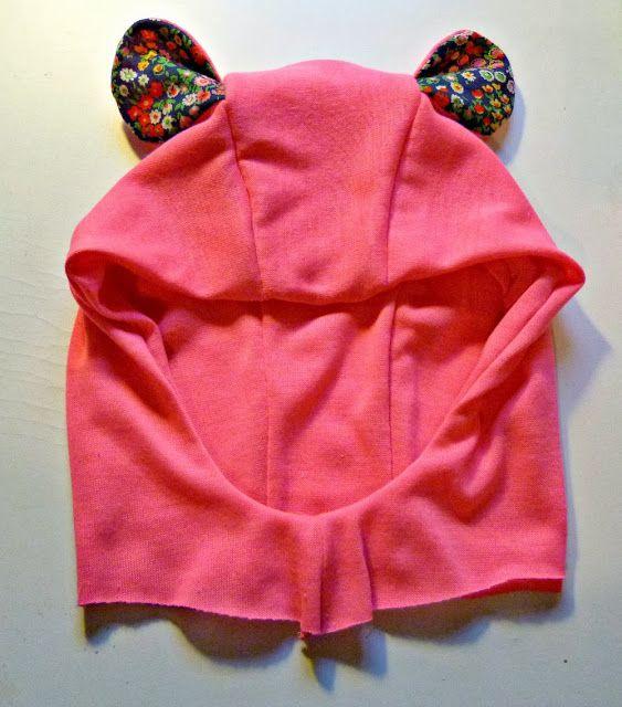 EmmylouBeeDoo!: Adding Ears to your Bimaa Hoodie - Template and Tutorial
