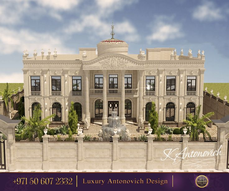 Big Modern Mansion Exterior