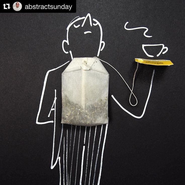 #Repost @abstractsunday. . Sharing our favourite abstract art by Christoph Niemann (Tea Bag! Who would have thought!). . We love how he uses very simple everyday objects to create imaginative drawings. Sometimes we have just got to think out of the box! . Happy tuesday everyone!