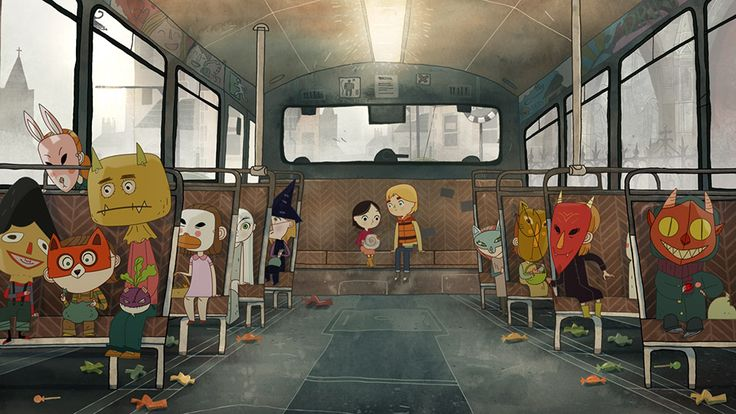 I love Cartoon Saloon.  Song of the Sea.  Upcoming animated movie