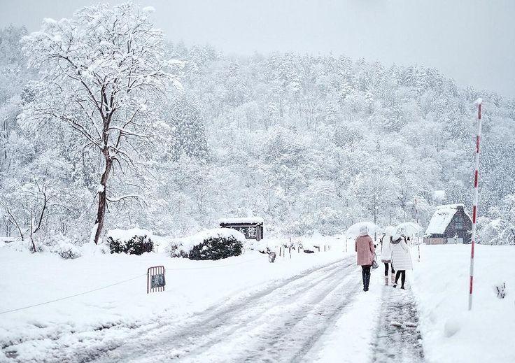 Walking to Nowhere.. ☃❄️ . . #mpvacayvacay #beautifuldestinations #liveoutdoor #shirakawago #unesco #photooftheday