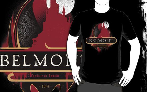 Belmont Castlevania T-Shirts Click Here To Buy