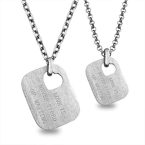 60 best images about couple necklaces on pinterest heart for Couples matching jewelry sets