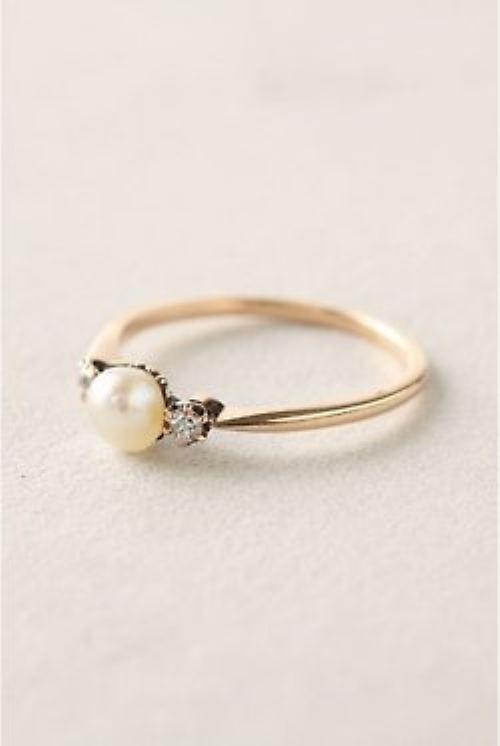 Pearl ring....