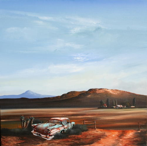 Image detail for -SOUTH AFRICAN ARTIST RICK BECKER IS WELL KNOWN FOR HIS LANDSCAPES AND ...