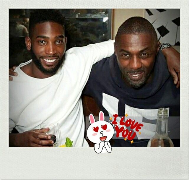 Two hotties for the price of one  Tinie Tempah & Idris Elba