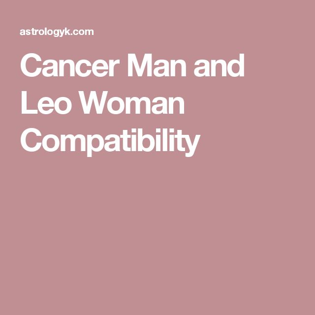 cancer woman dating scorpio man