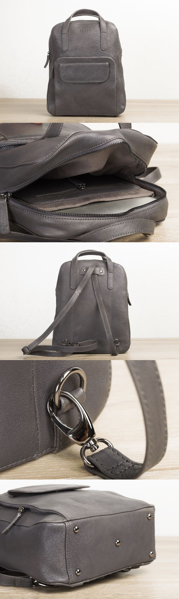 #convertible #leather #laptop #backpack for @women by #TheLeatherExpert