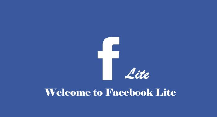 Welcome To Facebook Lite Download The Facebook Lite App