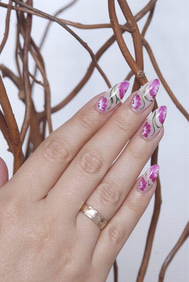 19 Diseños de Uñas Puntiagudas #decoracion_unas #diseno_unas #unas_decoradas #nails #nail_art #nail_art_designs