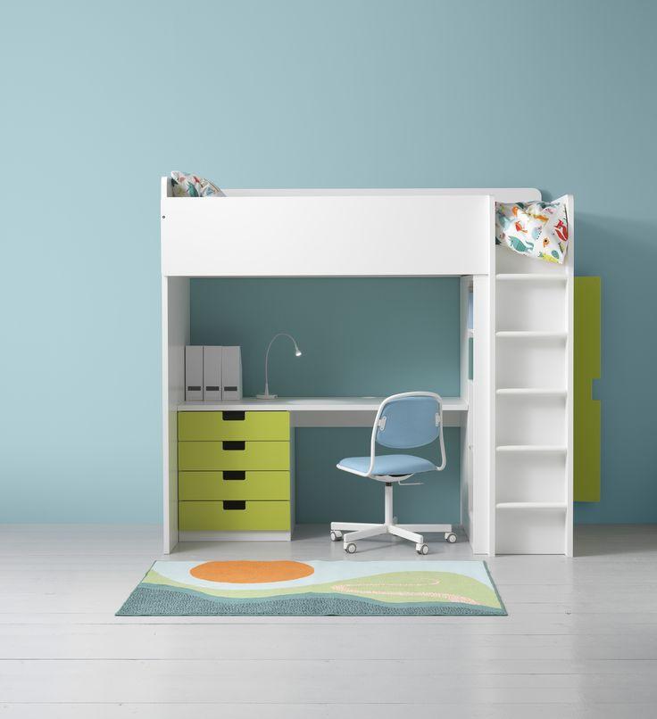 Die besten 25 ikea hochbett stuva ideen auf pinterest ikea hack stuva etagenbett schiene und Ikea dormitorio infantil