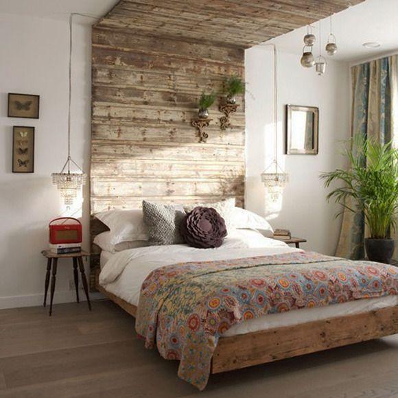Фотография: Спальня в стиле Кантри, Интерьер комнат, идеи для спальни, как оформить спальню, изголовье кровти, как обновить интерьер спальни – фото на InMyRoom.ru
