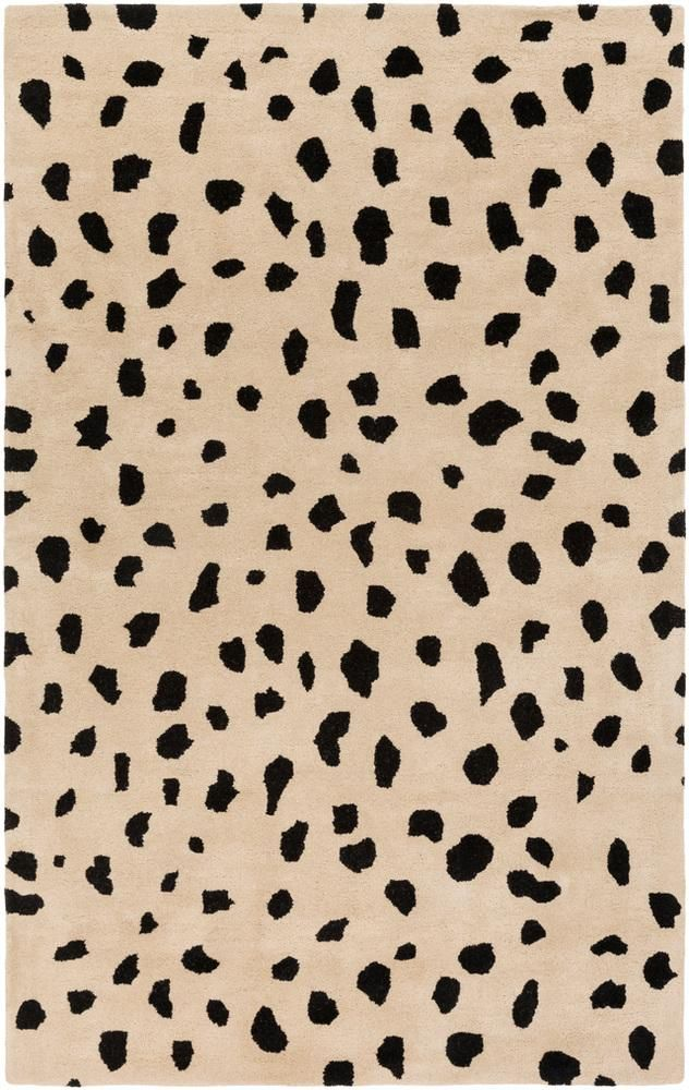 Shop the Rug - Color: Beige, Black; Size: x by Artistic Weavers. Made from Wool in India. This Hand Tufted Beige, Black rug has a pile_height, perfect for a soft yet durable addition to your home.