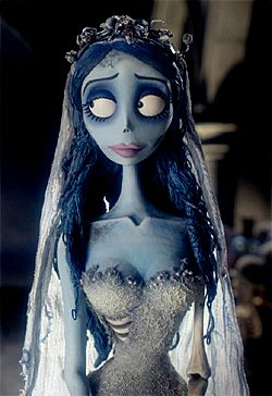 10. The Corpse Bride. This is a Tim Burton classic and a perennial favourite. Makeup artists Pixiwoo have the entire hair and makeup look sussed out, so (click to read full article) | 10 Halloween Hair and Makeup Looks #hair #halloween