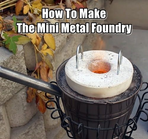 How To Melt Aluminium Soda Cans For Cheap. This DIY mini foundry project is easy to make and best of all, you can cast your own aluminum from old soda cans.