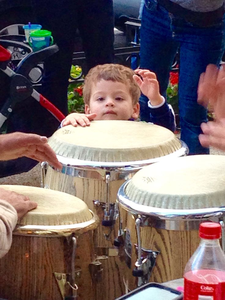 The Afro-Peruvians percussion beats  of Martin Zuniga continue at the Adams Morgan Porch Fest at Toro Mata until 6pm!